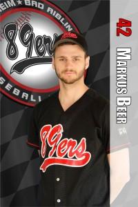 Playerscard Beer Markus