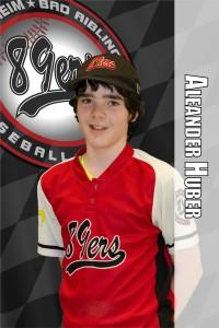 Playerscard Huber Alexander