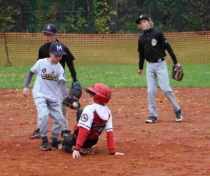 Hainzl Maxi Slide an 2nd Base