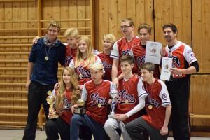 Teamfoto Jugend beim Golden Ball