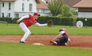2016 - Herren 2 in Steinheim_Bauer Slide an 3rd