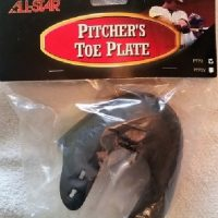 Pitcher Toe Plate (All Star)