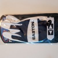 Batting-Glove, weiß/blau, Adult L LH (Easton)