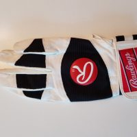 Batting-Glove, weiß/schwarz, Adult XL RH (Rawlings)