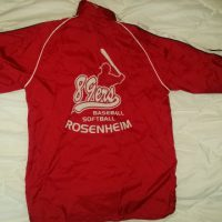 Allwetter-Jacke 89ers, rot-weiß, Gr. 164 (JAKO)